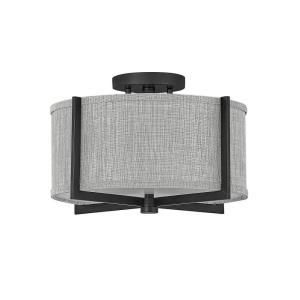 "Axis - 14.5"" 34W 2 LED Small Semi-Flush Mount"