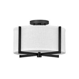 Axis - 14.5 Inch 34W 2 LED Small Semi-Flush Mount