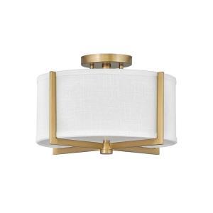 Axis - 14.5 Inch 34W 2 LED Small Semi-Flush Mount