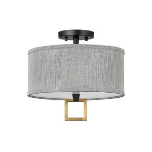 Link - 13 Inch 34W 2 LED Small Semi-Flush Mount