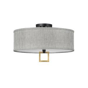 Link -  Inch 51W 3 LED Medium Semi-Flush Mount