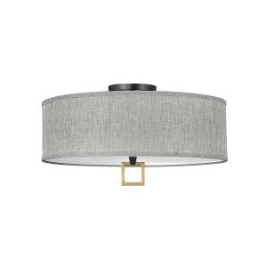 Link - 23.75 Inch 68W 4 LED Large Semi-Flush Mount