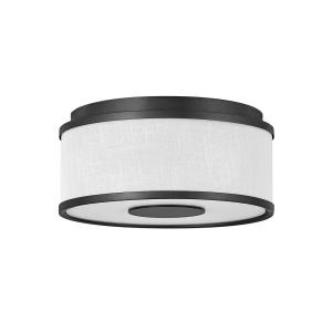 Halo - 34W 2 LED Small Flush Mount in Transitional Style - 13.25 Inches Wide by 6 Inches High