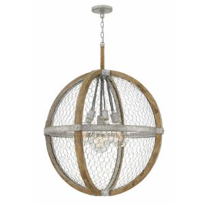 "Heywood - 36.5"" Seven Light Chandelier"