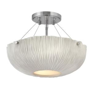 Coral - Three Light Medium Semi-Flush Mount