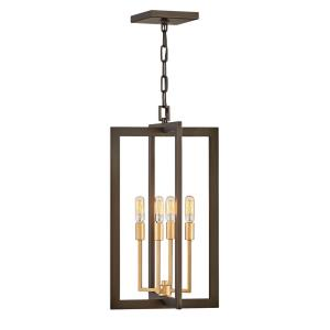 Anders - Four Light Medium Chandelier in Transitional Style - 18 Inches Wide by 28.75 Inches High
