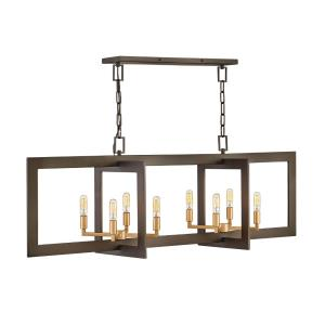 Anders - Eight Light Linear Chandelier