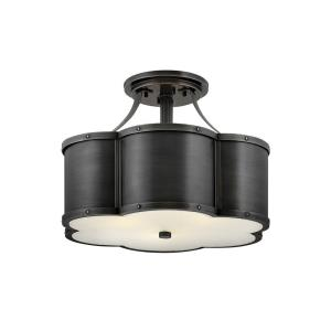 Chance - 3 Light Medium Semi-Flush Mount