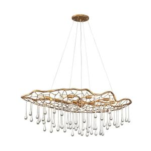 Laguna - Eight Light Linear Chandelier