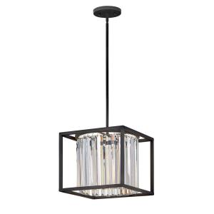 Giada - One Light Medium Pendant in Modern, Glam Style - 12 Inches Wide by 10 Inches High