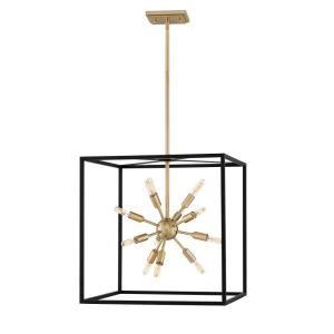 Aros - 12 Light Medium Open Frame Chandelier