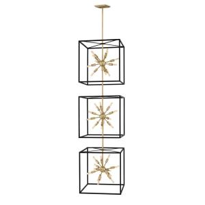 Aros  - Thirty-Six Light 3-Tier Chandelier