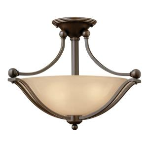 Bolla - 2 Light Small Semi-Flush Mount