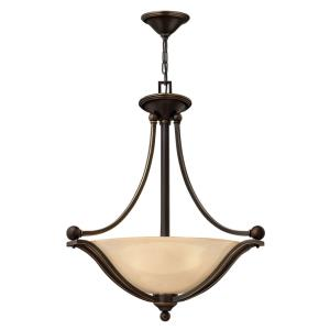 Bolla - 3 Light Large Pendant in Transitional Style - 23.25 Inches Wide by 26.25 Inches High