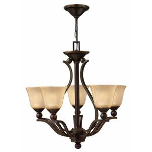 Bolla - 5 Light Medium Chandelier in Transitional Style - 24 Inches Wide by 24 Inches High