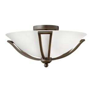 Bolla - 2 Light Small Flush Mount in Transitional Style - 16.75 Inches Wide by 8 Inches High