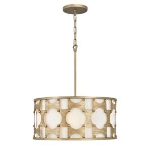 Carter - Five Light Medium Drum Pendant