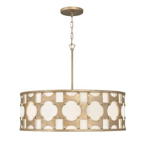 Carter - Six Light Large Drum Pendant