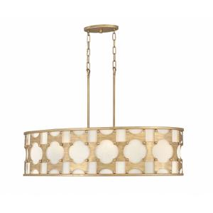 Carter - Six Light Linear Pendant
