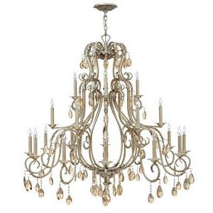 Carlton - Twenty-One Light 3-Tier Chandelier