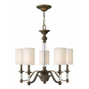 Sussex - 5 Light Medium Chandelier in Traditional Style - 26 Inches Wide by 24.75 Inches High