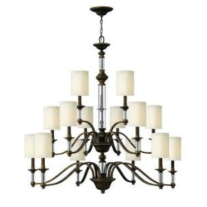 Sussex - 44.25 Inch Fifteen Light Chandelier