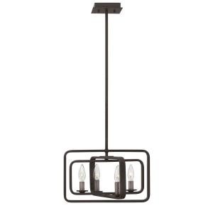 Quentin - Four Light Small Stem Hung Pendant