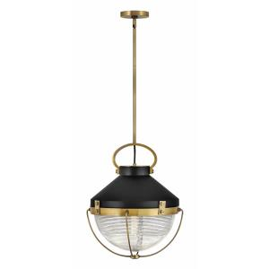 Crew - 1 Light Medium Pendant in Coastal, Industrial Style - 16 Inches Wide by 19.75 Inches High