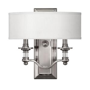 Sussex - 2 Light Wall Sconce in Traditional Style - 14 Inches Wide by 14 Inches High