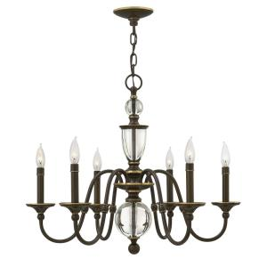 Eleanor - 6 Light Small Chandelier