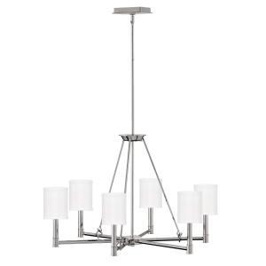 Buchanan - Six Light Medium Chandelier