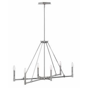 Buchanan - Six Light Linear Chandelier