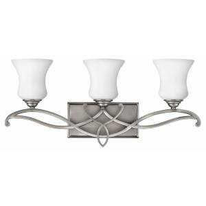 Brooke - 3 Light Bath Vanity in Traditional, Transitional, Coastal Style - 24 Inches Wide by 10.75 Inches High