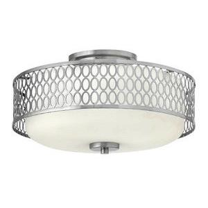 Jules - 15 Inch 3 Light Semi-Flush Mount