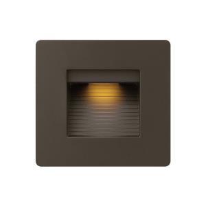 Luna - 4.5 Inch 120V 4W LED Horizontal Double Gang Step Light