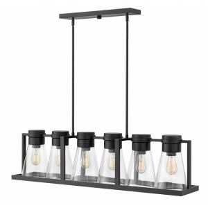 Refinery - 6 Light Linear Chandelier
