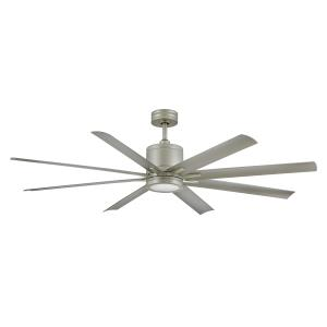 Vantage - 66 Inch 8 Blade Ceiling Fan with Light Kit
