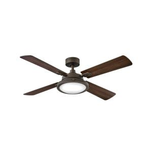 Collier - 54 Inch 4 Blade Ceiling Fan with Light Kit