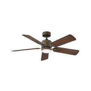 Afton - 52 Inch 5 Blade Ceiling Fan with Light Kit