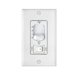 Accessory - 5.25 Inch 3 Speed Wall Control with On/Off Switch