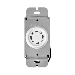 Accessory - 5.25 Inch 3 Speed Rotary Wall Control