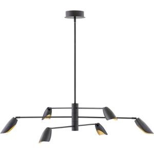 Bowery  - 50 Inch 180W 6 LED Chandelier