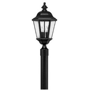 Edgewater - Three Light Outdoor Post Lantern