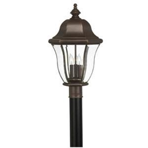 Monticello Brass Outdoor Lantern Fixture