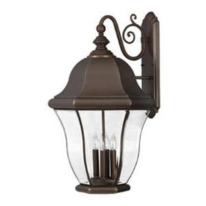 Monticello Brass Outdoor Lantern Fixture