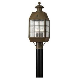 Nantucket Brass Outdoor Lantern Fixture