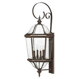 Augusta Brass Outdoor Lantern Fixture