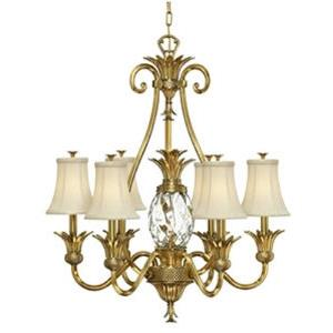 "Plantation - 33"" Seven Light Chandelier"