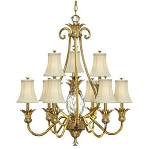 Plantation - 36.75 Inch Ten Light Chandelier