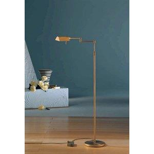 Chairside - 40 Inch 88W 8 LED Floor Lamp with Side Line Dimmer